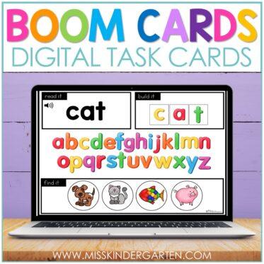 Using Boom Cards in Kindergarten