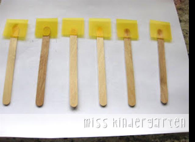 DIY highlighter sticks