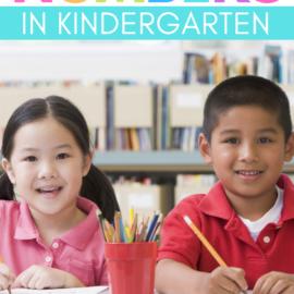 Writing Numbers in Kindergarten