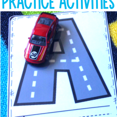 All About the ABCs! Kindergarten Alphabet Activities