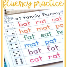 Free Reading Fluency Activities