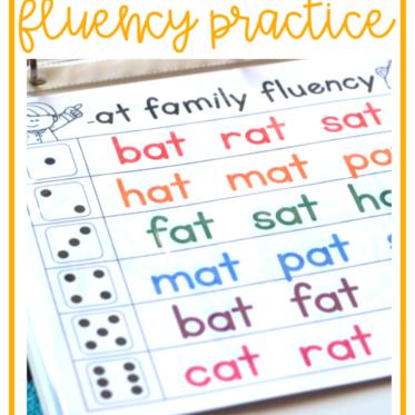 Free Reading Fluency Activities