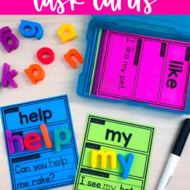 Hands-on Sight Words Activities in Kindergarten