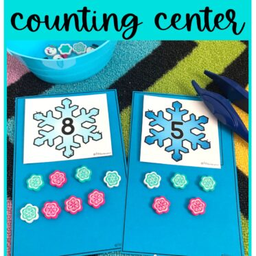 Snowflake Counting Activity Free Download!