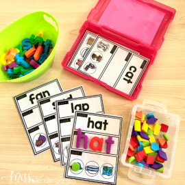 CVC Words Practice For Kindergarten