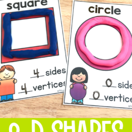 Creative Ways to Teach 2D Shapes in Kindergarten