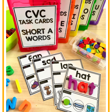 CVC Words Practice For Kindergarten