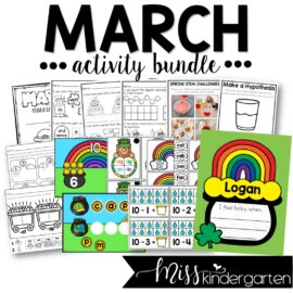 March Activity Bundle