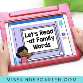 Learn to Read with Digital Guided Reading Boom Cards!