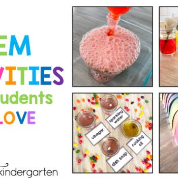 Kindergarten STEM activities your students will love