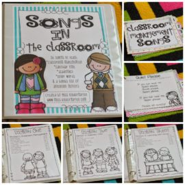 Easy Classroom Management Through Songs!
