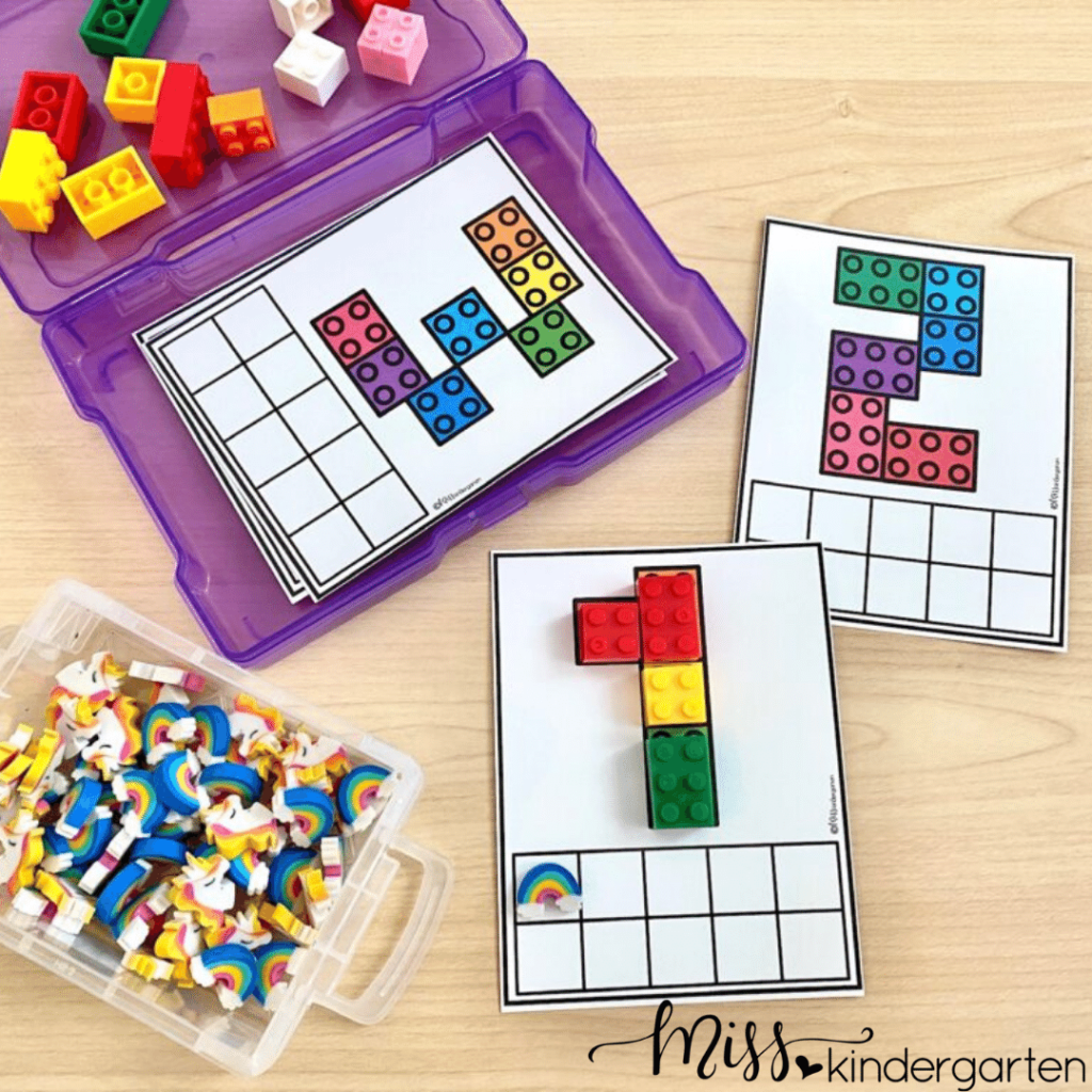 these block center activities are great for the first day of centers