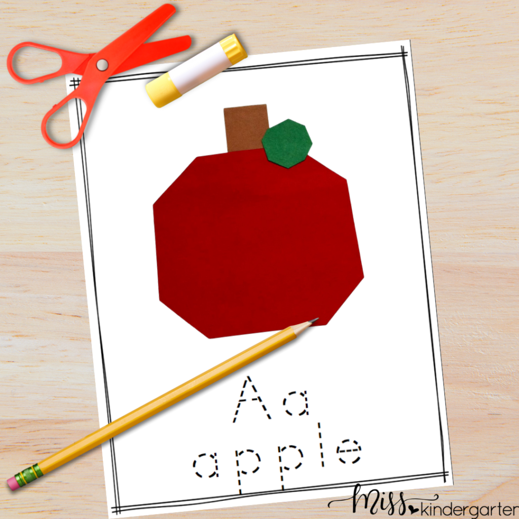 These simple letter crafts are a fun way for students to connect the letter with its sound.  They also provide great fine motor practice and following directions skills too.