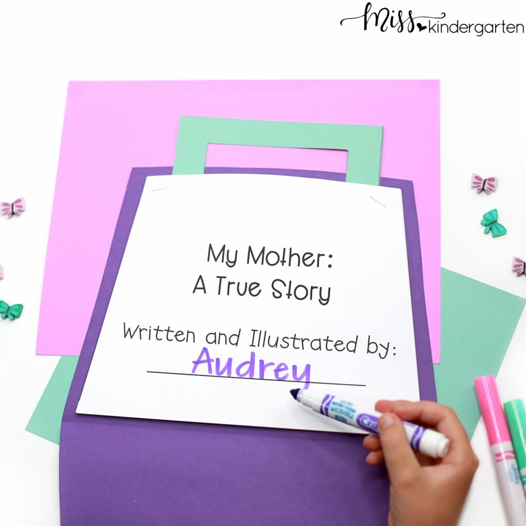 Your students will love describing everything they love about their mom with these creative Mother's Day craft ideas