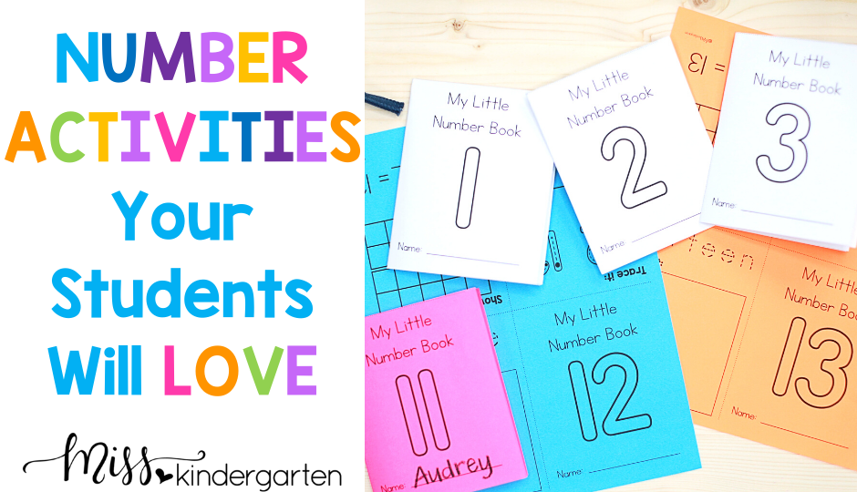 number activities your students will love