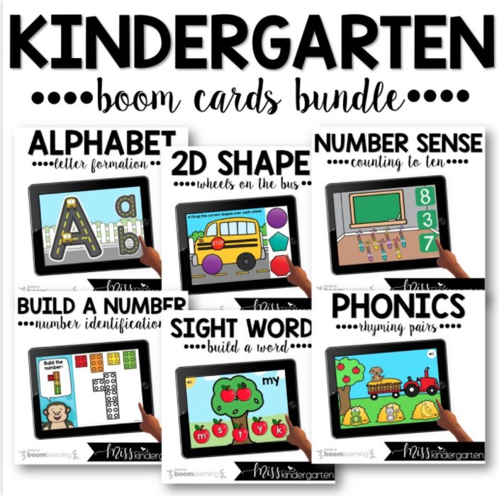 Use these Boom Cards as an interactive digital center activity