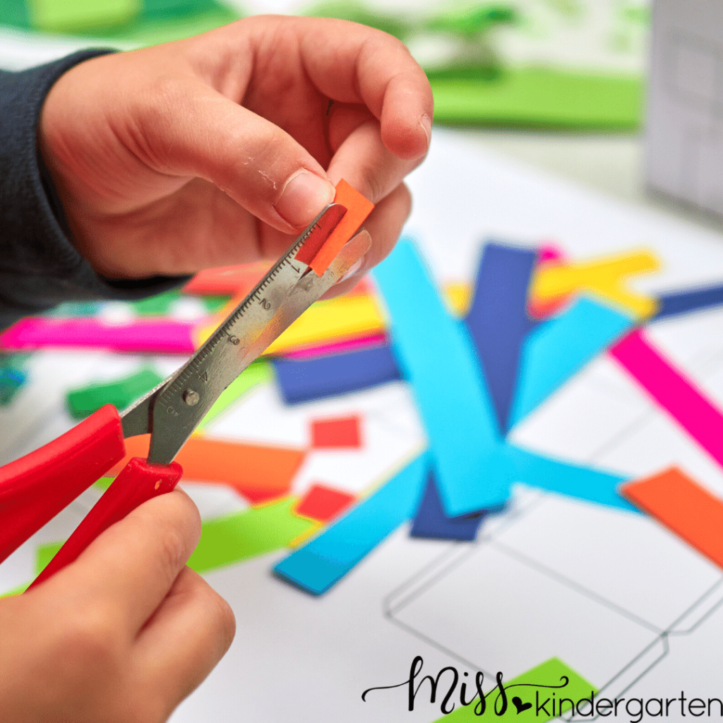 teaching students how to use craft tools and supplies is an important first step