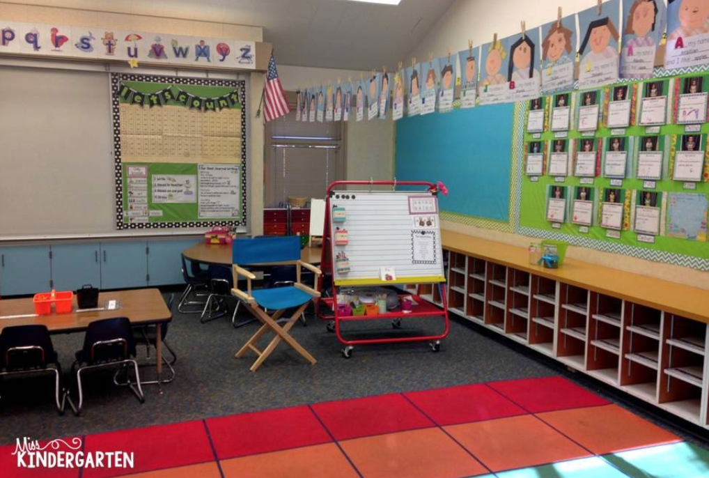 having a carpet area for whole class teaching is important for lessons and classroom management