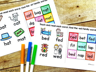 Use visual examples to help students understand the connection between the image and the words