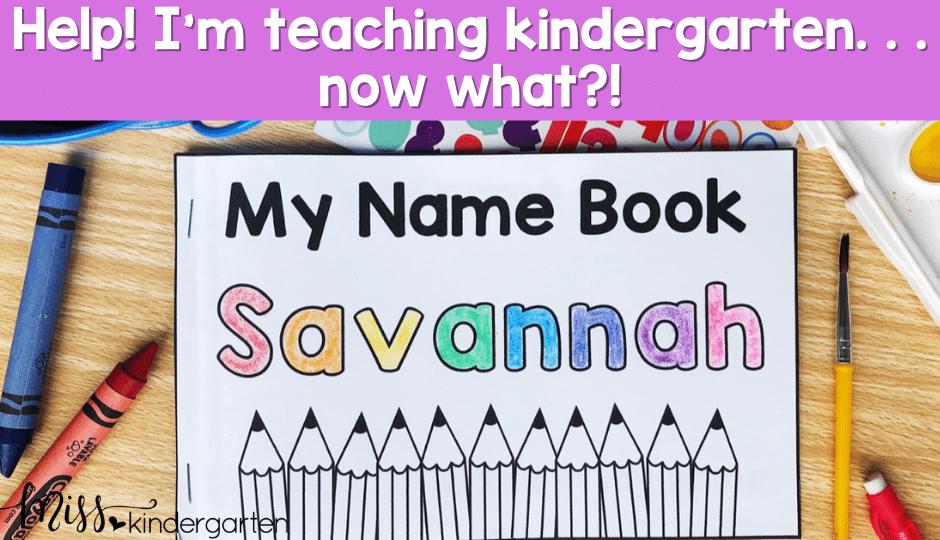 tips and ideas for a new kindergarten teacher from a kindergarten veteran