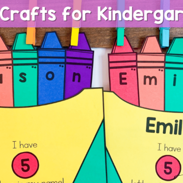 Kindergarten Crafts to Use This Fall
