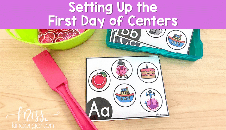 Starting centers in the primary classroom does not have to be scary. These tips will help you survive the first day of centers and be ready for more.