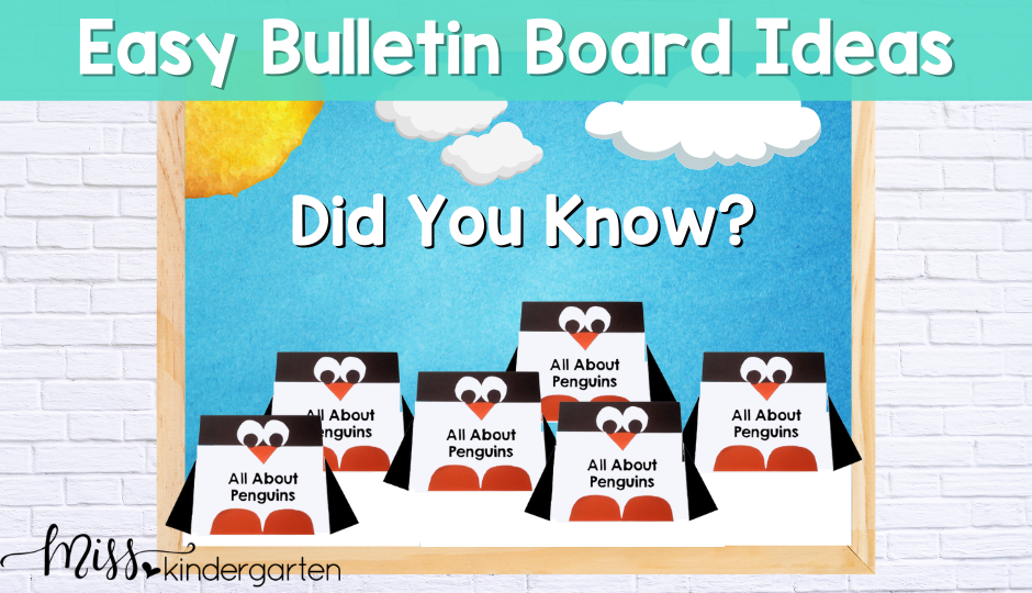 Bulletin Board Ideas for the busy teacher that will save time and money