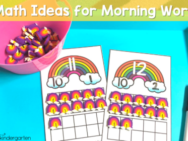 Math Ideas for Morning Tubs