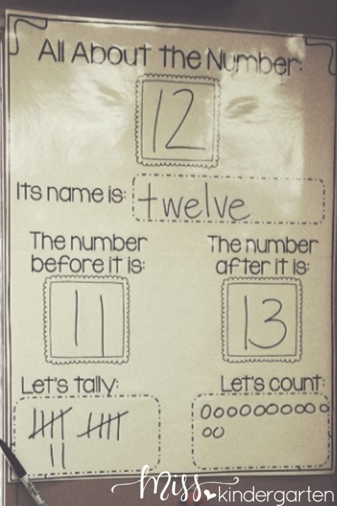 Building number sense skills through calendar time