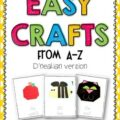 These Easy Crafts are a fun and engaging activity when teaching the letters of the alphabet