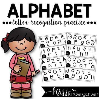 Alphabet Letter Recognition Practice