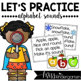 Alphabet Sounds Practice Lowercase Letters