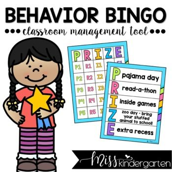 Behavior Bingo Classroom Management Tool