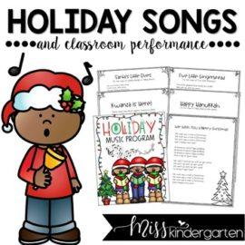 Holiday Songs Christmas Performance