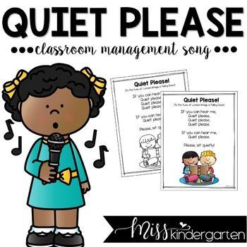 Classroom Management Song Freebie