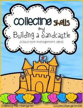 Collecting Shells & Building a Sandcastle {classroom management idea}