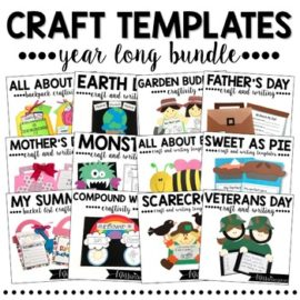 Crafts for the Whole Year Mega Bundle