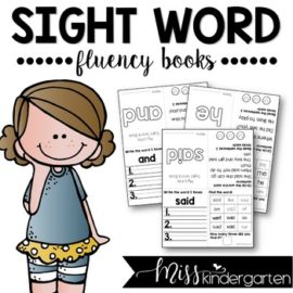 Editable Sight Word Books