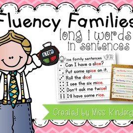 Fluency Sentences Long i Words