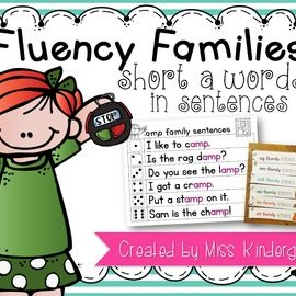 Fluency Sentences Short a Words