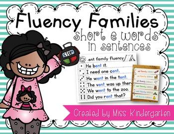 Fluency Sentences Short e Words
