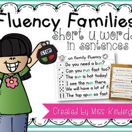 Fluency Sentences Short u Words
