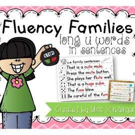 Long u Fluency Sentences