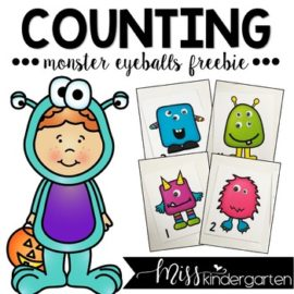 Monster Counting Freebie
