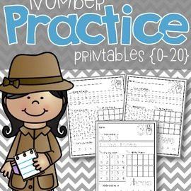 Number Practice 1-20