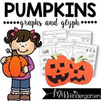 pumpkin graph and glyph math and craft