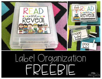 Read and Reveal Label Organization