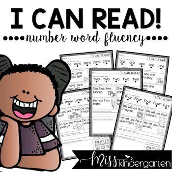 Sight Words Practice Number Words Fluency