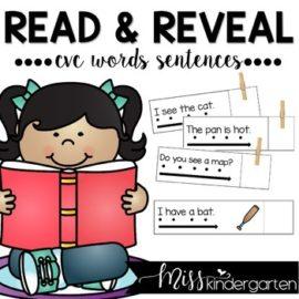 Simple Sentences   Sight Word Sentences with CVC Words