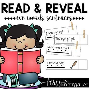 Simple Sentences | Sight Word Sentences with CVC Words